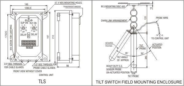 safety switches for material handling plants instruments